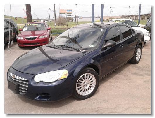 2005 Chrysler Sebring Touring Blue 598459 1