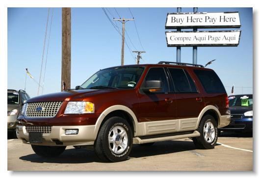 TX AUTO Inventory - 2006 expedition