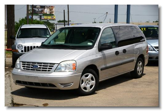 Ford Freestar 2005 S Silver A22607