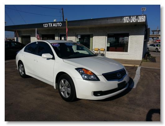 Nissan_Altima_2007_2.5 S_White_409776 4