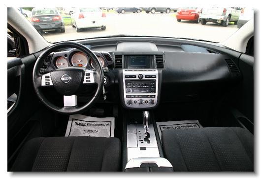 Wonderful Nissan_Murano_2006_S_Silver_406519   13