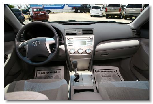 Toyota Camry 2009 Le Gray 123026 7